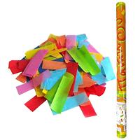 Фейерверк - Пневмохлопушка 100 см в пластиковой тубе бумажное конфетти
