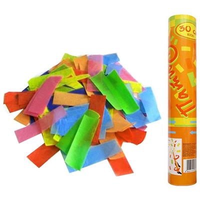 Фейерверк - Пневмохлопушка 30 см в пластиковой тубе бумажное конфетти