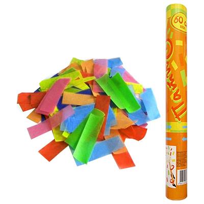 Фейерверк - Пневмохлопушка 60 см в пластиковой тубе бумажное конфетти