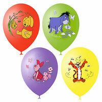 Фейерверк - Воздушные шары 30см Дисней Винни Пух, 25шт.
