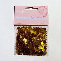 Фейерверк - Конфетти фольгированное Звезды золотые 14гр