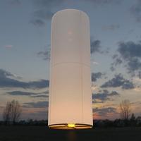 Фейерверк - Небесный фонарик, цилиндр (белый)