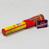Фейерверк - Факел дымовой с чекой красный