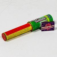 Фейерверк - Факел дымовой с чекой зеленый