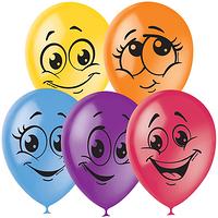 Фейерверк - Воздушные шары 30см Улыбки, 50шт.